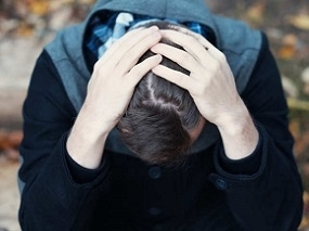 Male Experiencing Post Traumatic Stress Disorder