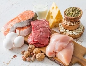 photo of protein foods