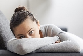 Woman Suffering Generalized Anxiety Disorder